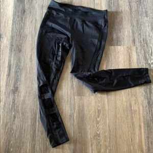 Black Ankle Cut Out leggings
